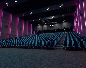 3D model Movie theater