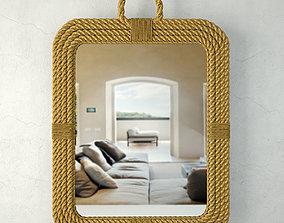 3D Aspen Rectangular Mirror Jeffan