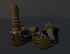 RGD-33 Hand Grenade GameReady 3D asset