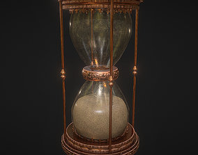 Hourglass 3D asset game-ready