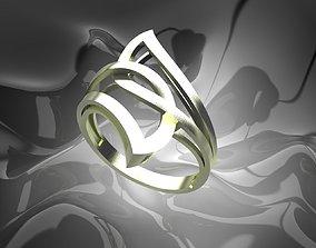 3D print model Plain Light Women Ring