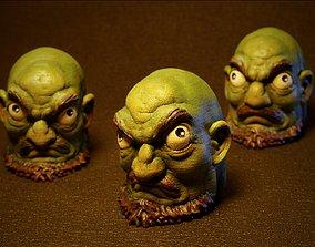 3D print model Kashira Green head minions