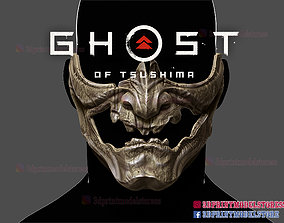 3D printable model Ghost of Tsushima Skeletal Mask - 4