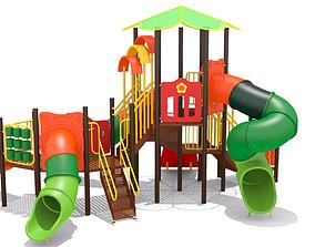 fantasy Kids Playground 3D model game-ready