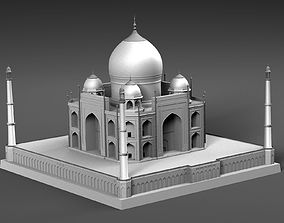Tadzh Makhal India 3D model