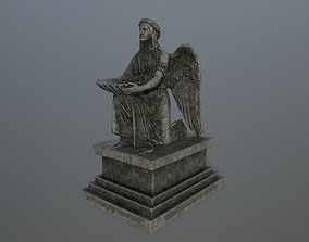 3D model game-ready Angel Statue