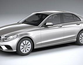 Mercedes-Benz C-class basic 2020 3D model