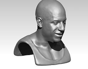 Diesel bust 3D print model