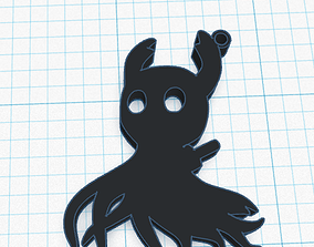3D printable model Hollow Knight Soul Keychain