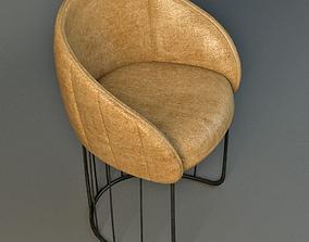 Tonella Chair 3D model