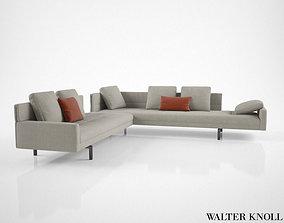 Walter Knoll Gordon 496 Sofa 3D model