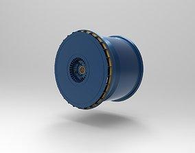 speedcars TurboFan rim Kit 3D