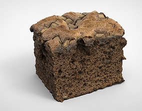 CHOCOLATE CAKE 3D asset realtime