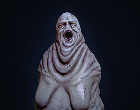 Fat slave Horror Monster 3D model
