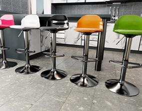Kitchen-bar stools 3D model