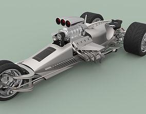 3D model Hemi Trike Rocket 2