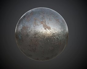 3D Metal Rusted Seamless PBR Texture