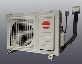 3D model Air conditioning condenser unit