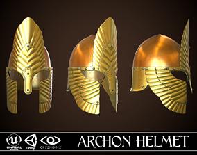 Archon Helmet 01 3D model