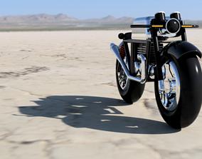 3D print model Cafe Racer Bike Design