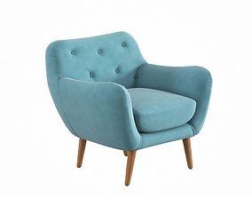 Zara Arm Chair 3D model