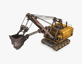3D model Electric Rope Shovel