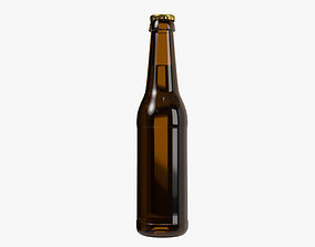 Beer bottle 03 3D model