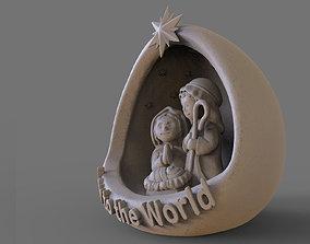 Nativity - Crib 3D print model nativity