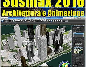022 3ds max 2016 Architettura e Animazione v 22 cd