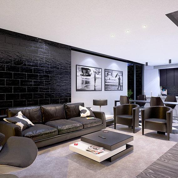 Black & White Architecture (Blender + Unreal Engine)