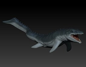 Mosasaurio prehistoric 3D printable model