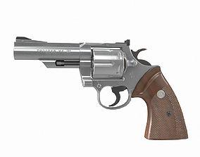 Colt Trooper MK III 4 inch 3D model