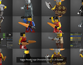 Game Ready Lego Characters Pack 2 3D