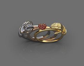 3D print model Hand ring 2
