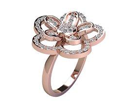 Flower Ring 3dm And Render Detail