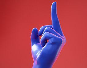 3D model Male Hand 25