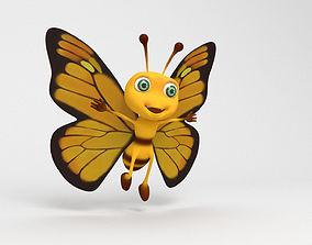 Butterfly Cartoon 3D