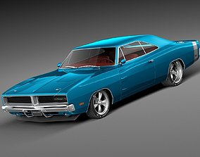 Dodge Charger Pro Touring 1968-1969 3D