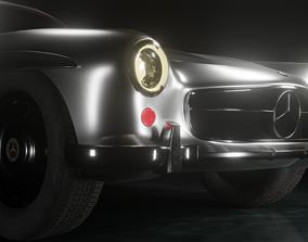 3D model Mercedes Benz SL 300 Gullwing