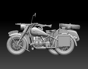 3D printable model r75 motorcycle