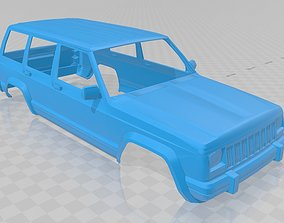 Jeep Cherokee 1990 Printable Body Car