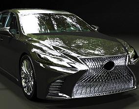 Lexus LS 2018 3D