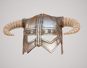 Warrior Helmet 3D asset