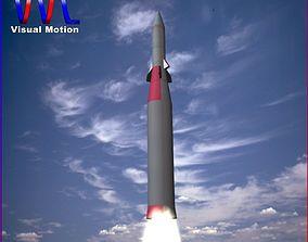 Arrow 2 Missile 3D model
