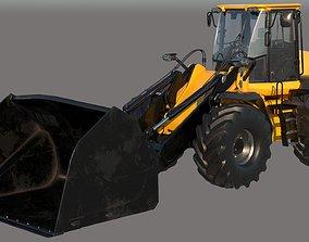 3D Wheel Loader Vehicle VRay PBR