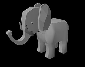 Elephant wild 3D