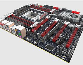 3D model Asus Rampage IV