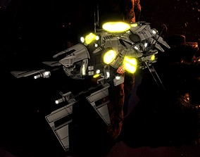 3D model Kings - Command Ship - Updated