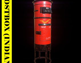 3D model Postbox-Indian