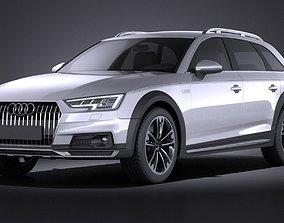 3D Audi A4 Allroad Quattro 2017 VRAY